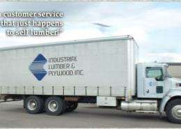 Semi-Truck Industrial Lumber & Plywood
