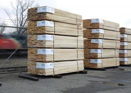 lumber yard train