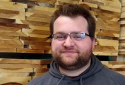 Ryan, Industrial Lumber staff member